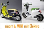 smart & MINI mit coole Elektroroller