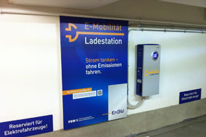 Ladestation der EnBW